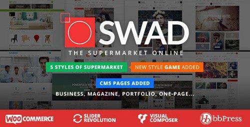 ThemeForest - Responsive Supermarket Online Theme - Oswad v3.2.0 - 9001623