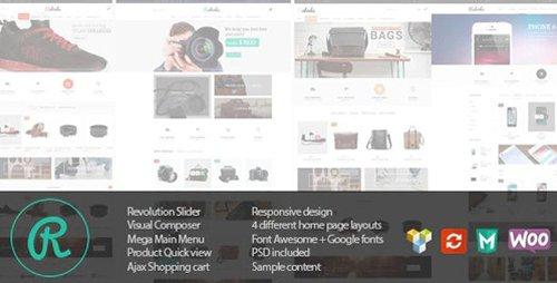 ThemeForest - Raboda v1.5.3 - eCommerce Responsive WordPress Theme - 10734411