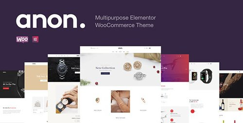 ThemeForest - Anon v1.6.3 - Multipurpose Elementor WooCommerce Themes - 25426652
