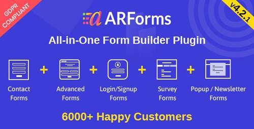 CodeCanyon - ARForms v4.2.1 - Wordpress Form Builder Plugin - 6023165 - NULLED