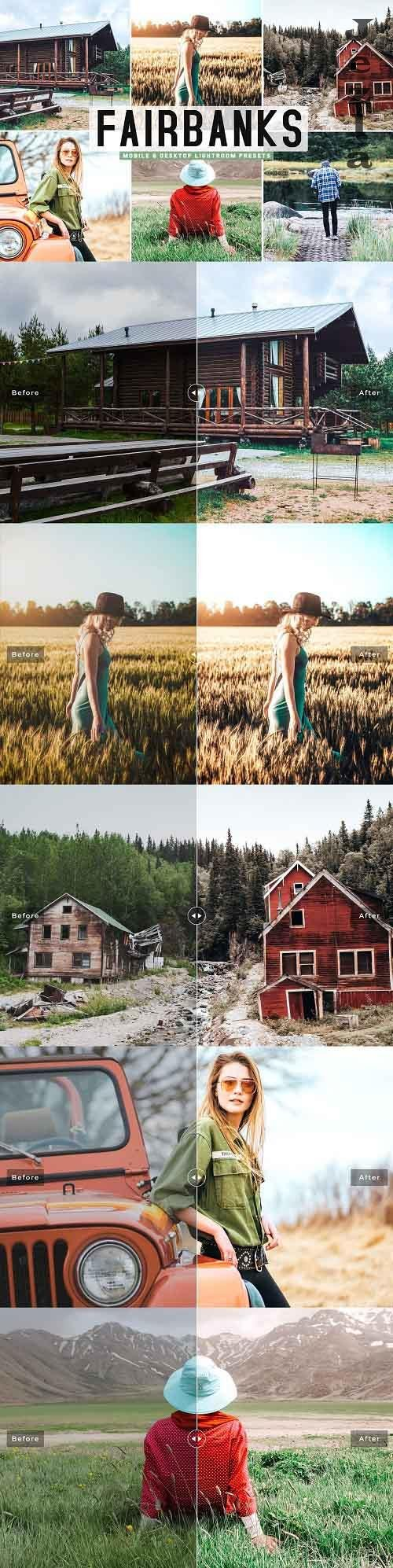 Fairbanks Pro Lightroom Presets - 5341958 - Mobile & Desktop