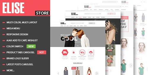 ThemeForest - Elise v1.3.5 - Fashion WooCommerce WordPress Theme - 12133774