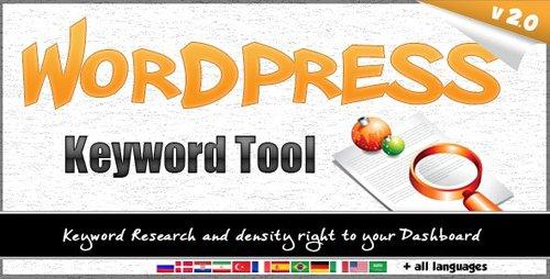 CodeCanyon - Wordpress Keyword Tool Plugin v2.3.3 - 2840111