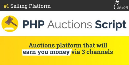 CodeCanyon - PHP Auctions Script v1.3 - 19510514 - NULLED