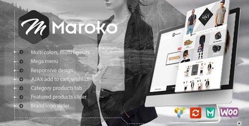ThemeForest - Maroko v1.3.6 - Responsive WordPress Fashion Theme - 12041751