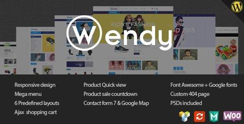 ThemeForest - Wendy v1.6.6 - Multi Store WooCommerce Theme - 11443116