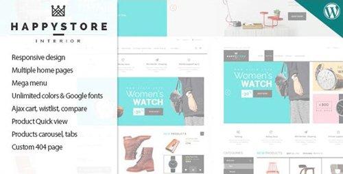 ThemeForest - HappyStore v1.6.4 - Responsive WordPress WooCommerce Theme - 11334273