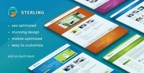 ThemeForest - Sterling v2.7.2 - Responsive Wordpress Theme - 2320578