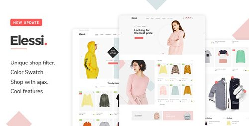 ThemeForest - Elessi v3.7.3 - WooCommerce AJAX WordPress Theme - RTL support - 20968615