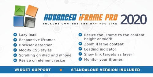 CodeCanyon - Advanced iFrame Pro v2020.8 - 5344999