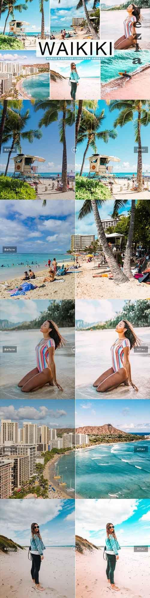 Waikiki Pro Lightroom Presets - 5342729 - Mobile & Desktop