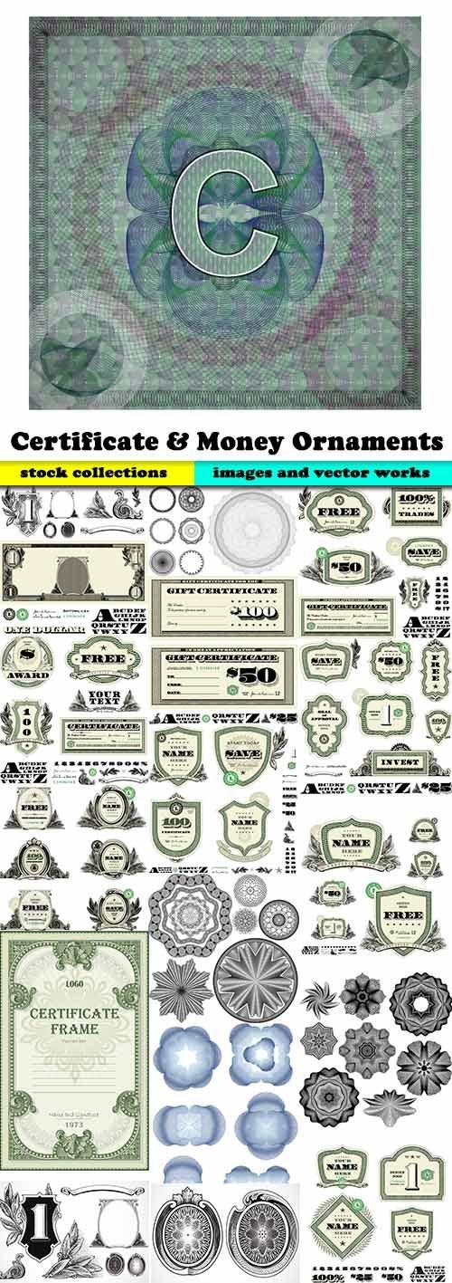 Certificate & Money Ornaments