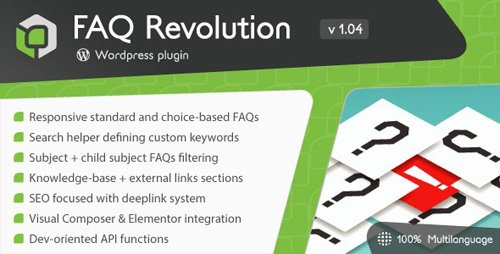 CodeCanyon - FAQ Revolution v1.04 - WordPress Plugin - 22660146