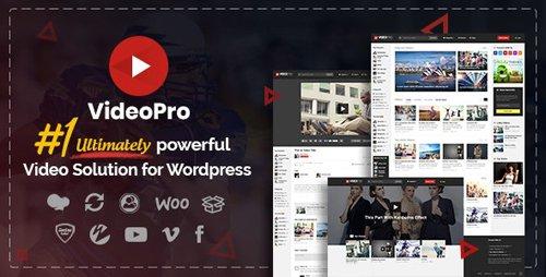 ThemeForest - VideoPro v2.3.7.1 - Video WordPress Theme - 16677956
