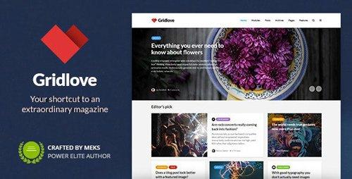 ThemeForest - Gridlove v1.9.7 - News Portal & Magazine WordPress Theme - 17990371