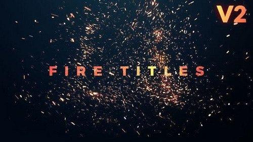 Fire Titles 21787342 - PRMPRO Pro Template