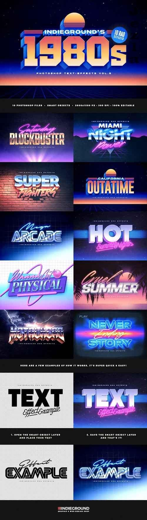 80s Text Effects Vol.3 - 28419092 - 5353481