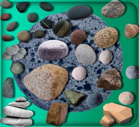 Png клипарты без фона - Структурные камни