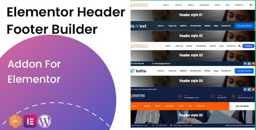 CodeCanyon - Elementor Header Footer Builder - Addon v1.0.2 - 28314268