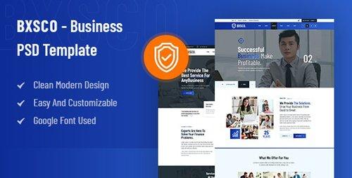 ThemeForest - BXSCO v1.0 - Business Multipurpose PSD Template - 28194067