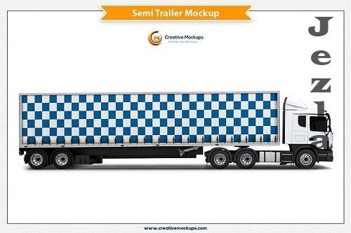 Semi Trailer Mockup 5182905