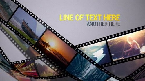 Film Strips (MA) - After Effects Templates