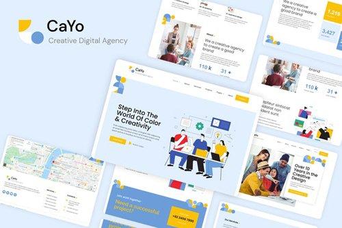 ThemeForest - CaYo v1.0 - Creative Agency Elementor Template Kit - 28369921