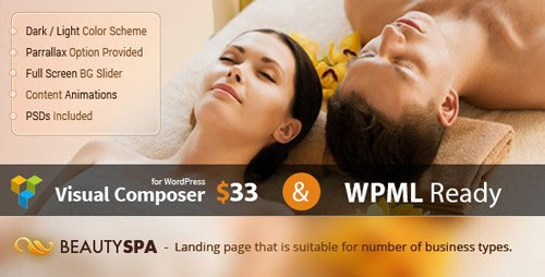 ThemeForest - Spa v1.3.2 - WordPress Theme with Page Builder - 11982416