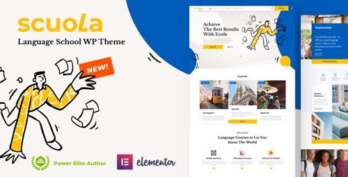 ThemeForest - Scuola v2.2 - Language School WordPress Elementor - 26355172 - NULLED