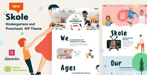 ThemeForest - Skole v2.2 - School Kindergarten WordPress Elementor - 26875770 - NULLED