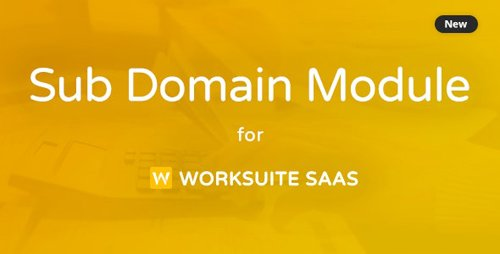 CodeCanyon - Subdomain Module for Worksuite SAAS v1.1.1 - 26384704