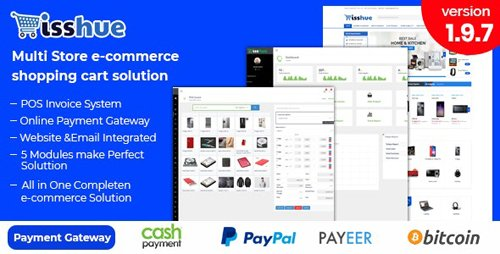 CodeCanyon - Isshue v2.0 - Multi Store eCommerce Shopping Cart Solution - 21576648 -