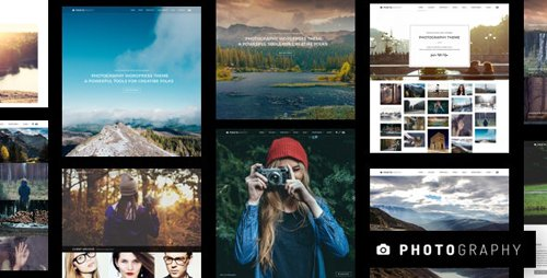 ThemeForest - Photography v6.7.2 - WordPress Theme - 13304399 - NULLED