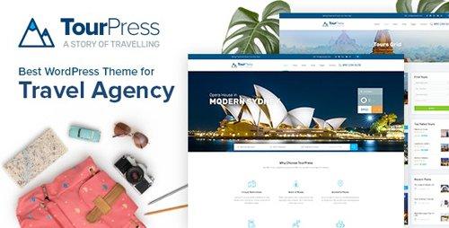 ThemeForest - TourPress v1.1.7 - Travel Booking WordPress Theme - 22395330