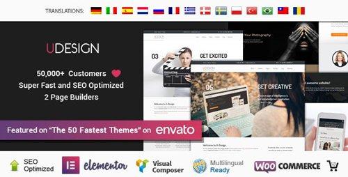 ThemeForest - uDesign v3.4.8 - Responsive WordPress Theme - 253220