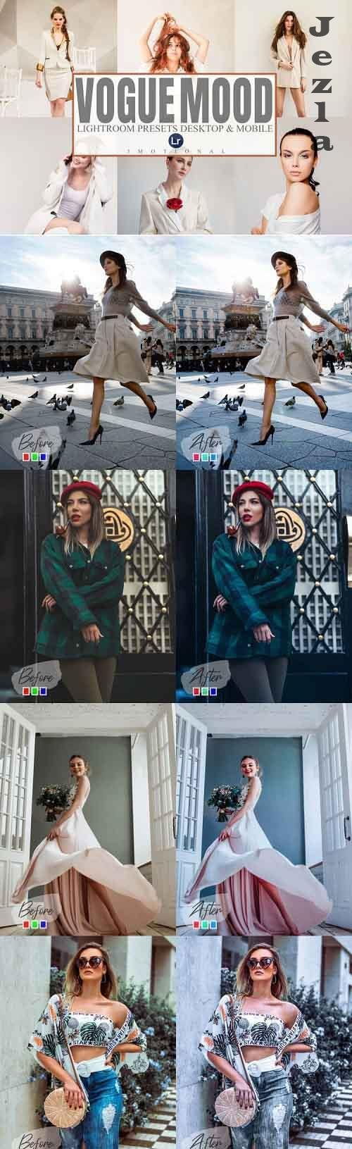 7 Vogue Mood Photoshop Actions, ACR, LUT Presets - 883376