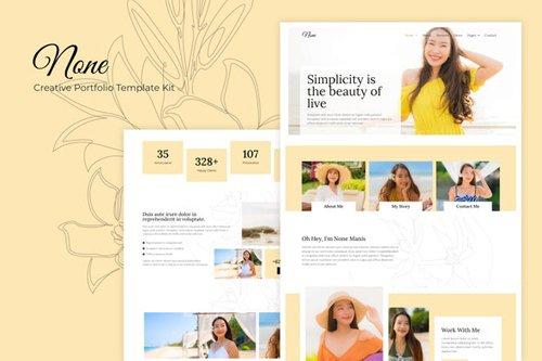 ThemeForest - None v1.0 - Stylish Fashion Template Kit - 28446600