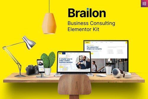 ThemeForest - Brailon v1.0 - Multipurpose Elementor Template Kit - 28467451
