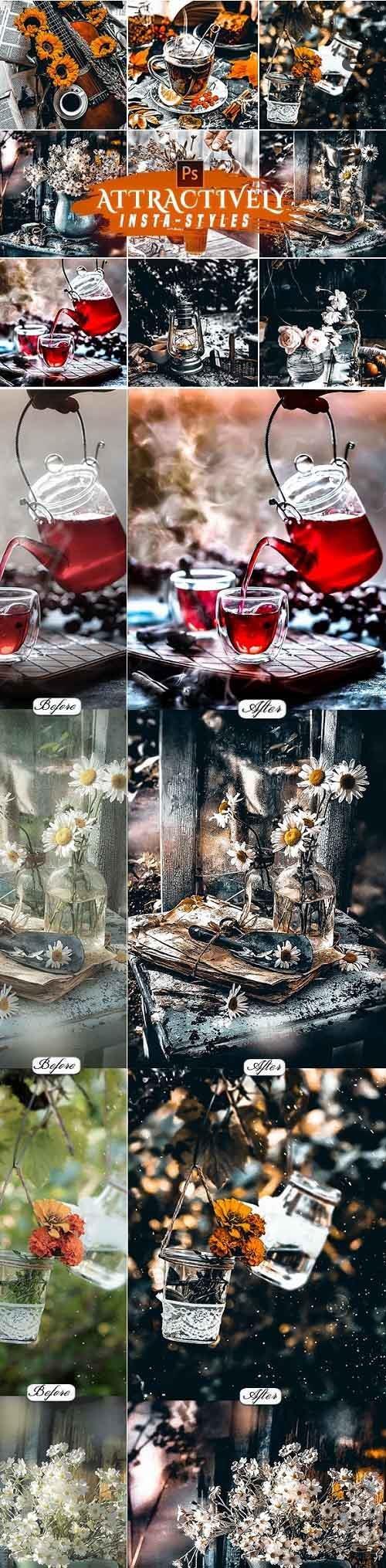 Micro-Art Photoshop Action 25882159