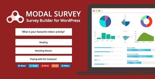 CodeCanyon - Modal Survey v2.0.6.3 - WordPress Poll, Survey & Quiz Plugin - 6533863