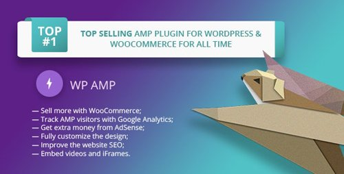 CodeCanyon - WP AMP v9.3.11 - Accelerated Mobile Pages for WordPress and WooCommerce - 16278608