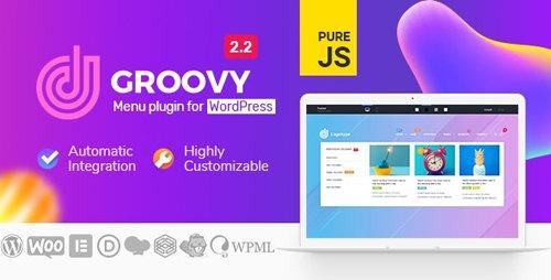 CodeCanyon - Groovy Mega Menu v2.2.13 - Responsive Mega Menu Plugin for WordPress - 23049456 -