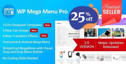 CodeCanyon - WP Mega Menu Pro v2.1.4 - Responsive Mega Menu Plugin for WordPress - 19190840