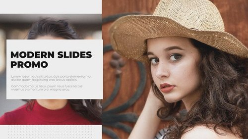 Проект ProShow Producer - Modern Slides Promo