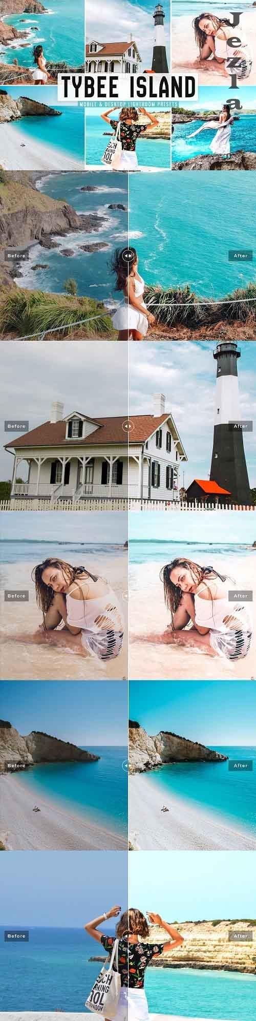 Tybee Island Pro Lightroom Presets - 5380687 - Mobile & Desktop