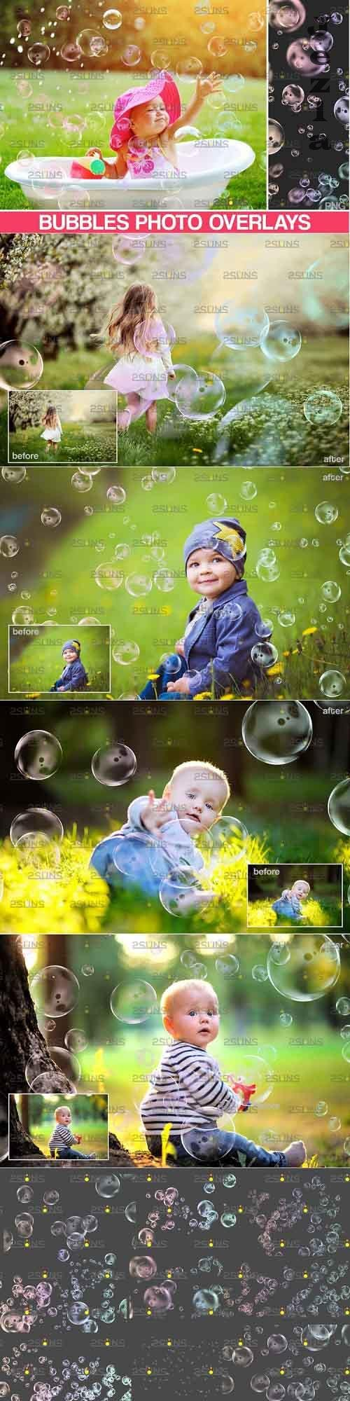 PHSP overlay Bubble overlays & Soap bubble - 895336