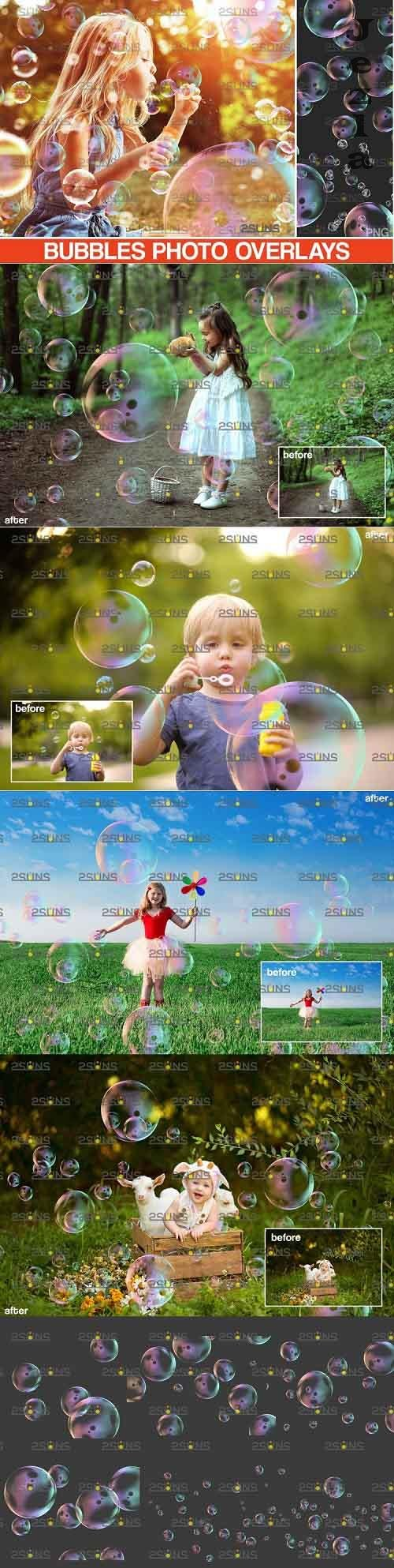 30 PHSP overlay Bubble overlays, Soap bubbles - 895339