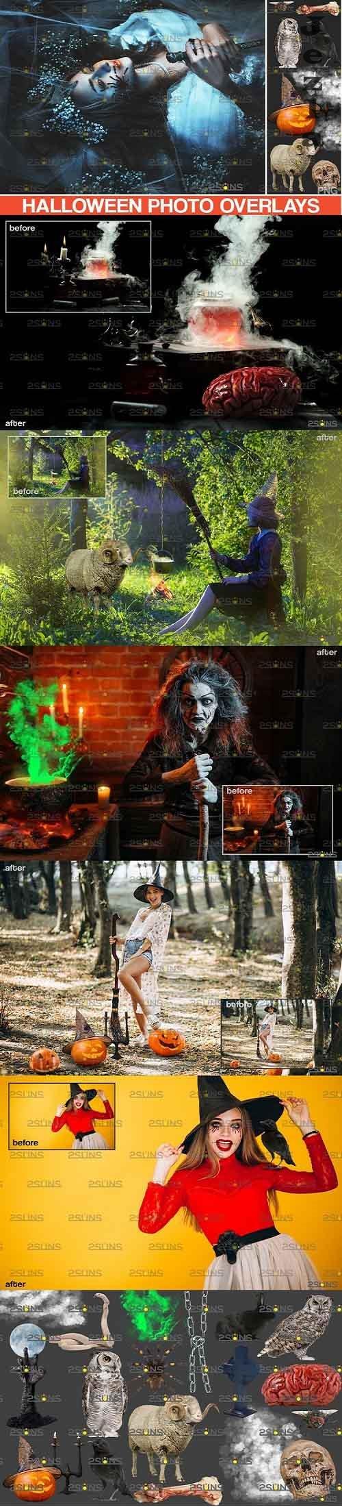 PHSP overlay & Halloween clipart pumpkin clipart - 895935