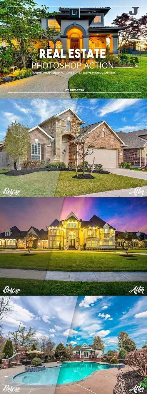 Real estate Photoshop Actions - 5347062