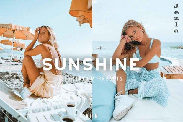 6 Sunshine Lightroom presets 4863472